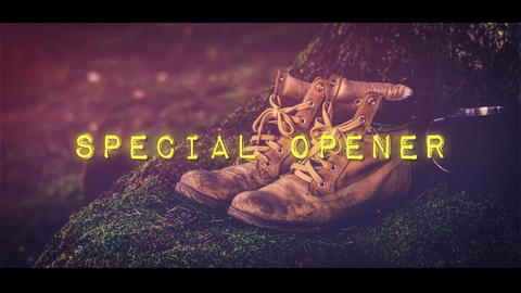 Special Opener After Effects Template