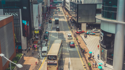 Hong Kong Traffic. Part 2.