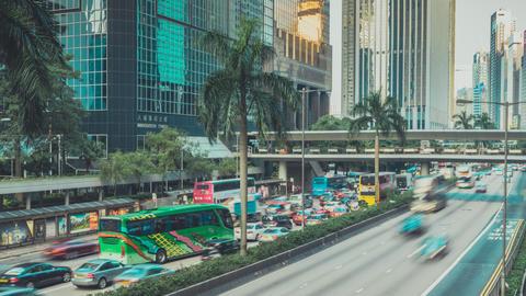 Hong Kong Traffic. Part 3. 0