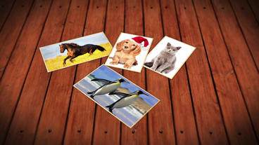 Board - Photographs Presentation After Effects Templates