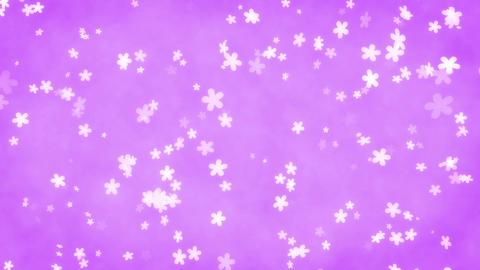 CG back ground [ flower ] loop Animation