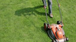 Lawn Mower Cutting The Grass 1