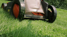 Lawn Mower Cutting The Grass 2