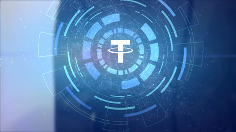 Tether Cryptocurrency Animation Package 2