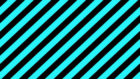 Turquoise and black strips background seamless loop Animation