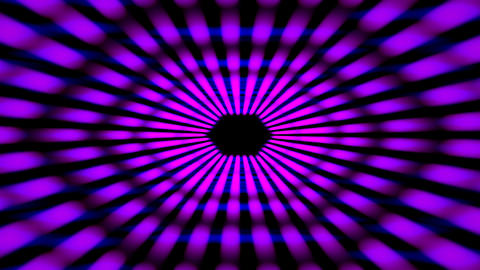 Abstract Purple Futuristic Flight Tunnel animation with Neon light Animation