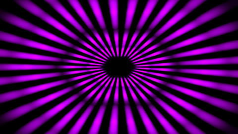 Abstract Purple Futuristic Tunnel Flight animation with Neon light. Technology and Futuristic Animation