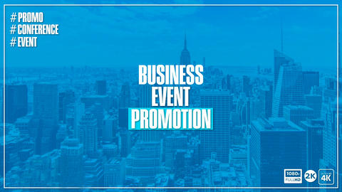Business Event Promo After Effects Template