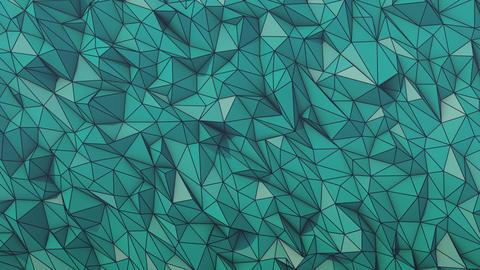 Blue short wireframe GIF