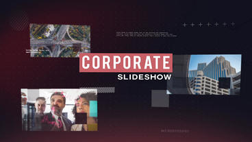 Techno Corporate Slideshow After Effects Template