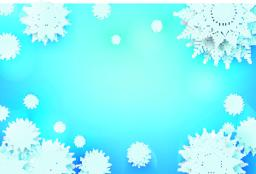 Christmas snow flake with copy space 001 ベクター