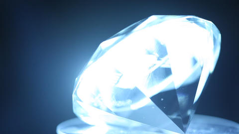 Diamond Crystal Stock Video Footage