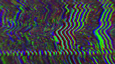 Abstract unique nostalgic psychedelic iridescent background Live Action