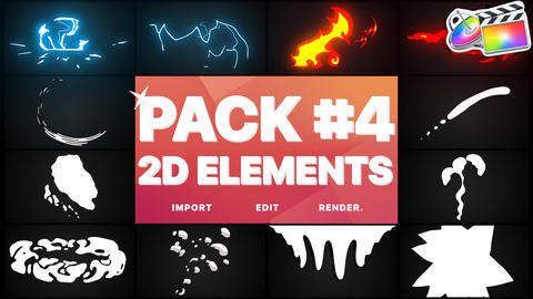 Elements Pack 04 Apple Motion Template