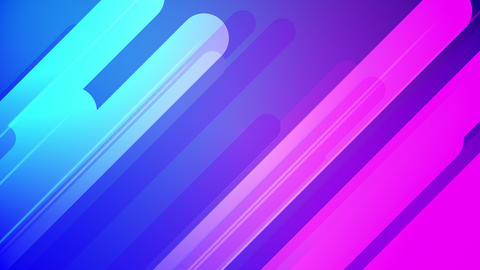 Colorful Abstract Background Pink And Blue Looping Seamlessly Animation