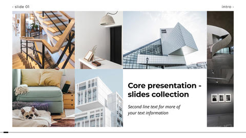 Core - Presentation and Slides Collection After Effects Template