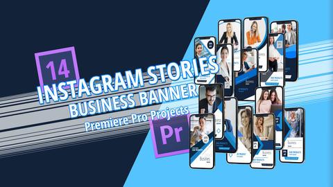 Business Banner Premiere Pro Project Plantillas de Premiere Pro