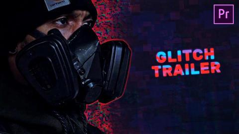 Glitch Trailer Premiere Pro Template
