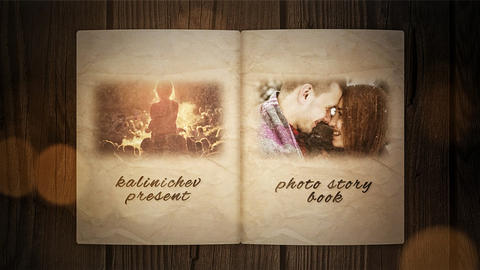 Story Book After Effects Template