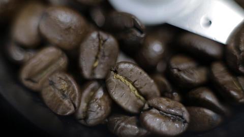 Coffee Grinder panorama Footage