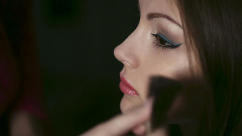 Make-up Stock Video Footage