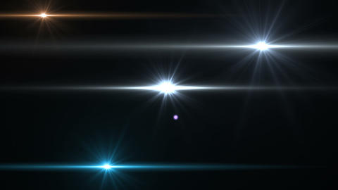 Flashlights On Black Hd stock footage