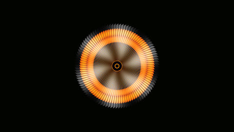 abstract propeller rotation Animation