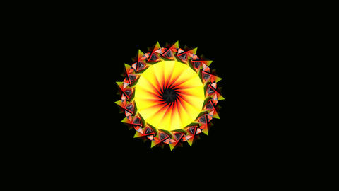 tribal colour spin Stock Video Footage