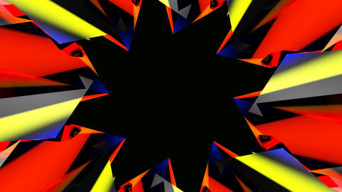 abstract hole starlish Stock Video Footage
