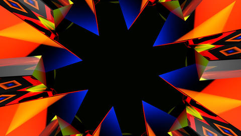 abstract hole starlish Animation