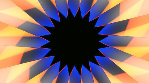 star center shape Stock Video Footage