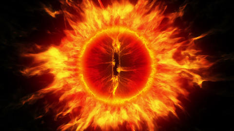 The Eye Of Sauron stock footage