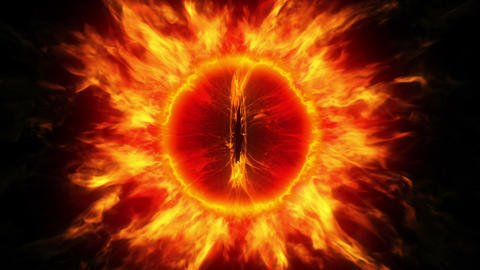 The eye of Sauron Stock Video Footage