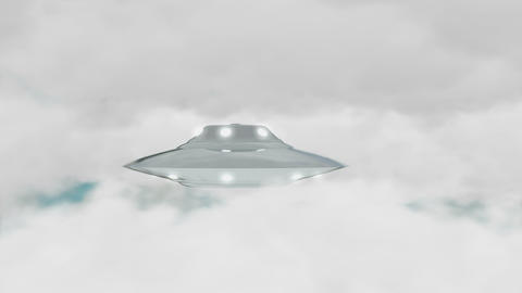 Ufo sun cloud Animation