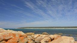 Bunker Bay Rocks View Stock Video Footage