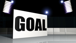 GOAL GOAL Ice Hockey - Sport Background 13 (HD) Stock Video Footage