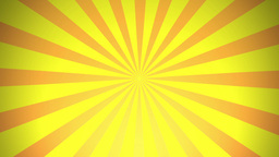BG RETRO RADIAL 01 Yellow 24fps Stock Video Footage