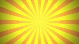 BG RETRO RADIAL 01 Yellow 30fps Stock Video Footage