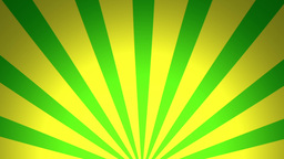 BG RETRO RADIAL 02 Green 24fps Animation