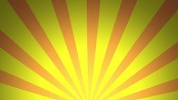 BG RETRO RADIAL 02 Yellow 25fps Stock Video Footage