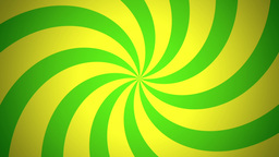 BG RETRO RADIAL 03 Green 24fps Animation