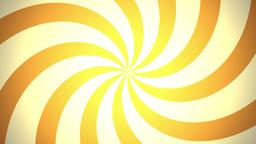 BG RETRO RADIAL 03 Orange 25fps Stock Video Footage
