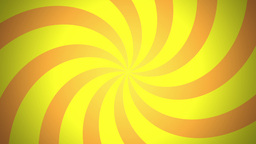 BG RETRO RADIAL 03 Yellow 25fps Animation