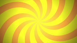 BG RETRO RADIAL 03 Yellow 25fps Animation