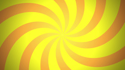 BG RETRO RADIAL 03 Yellow 25fps Stock Video Footage