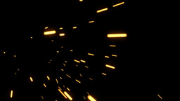 ELEMENT SPARKS 02 25fps Stock Video Footage