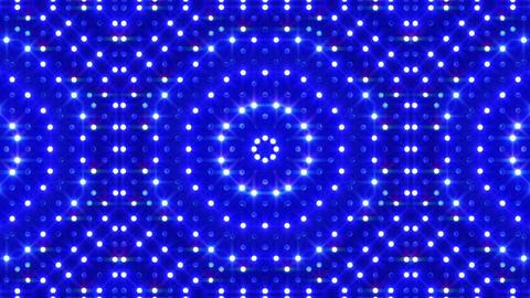 LED Kaleidoscope Wall 2 Bb 1 BTB HD Stock Video Footage