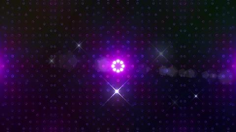 LED Kaleidoscope Wall 2 Bb 1 BTR HD Stock Video Footage