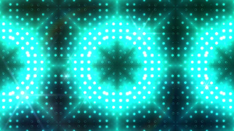 LED Kaleidoscope Wall 2 Bb 1 LRR HD Stock Video Footage