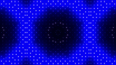 LED Kaleidoscope Wall 2 Bs 1 BTB HD Stock Video Footage